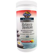 garden of life dr formulated magnesium relax re raspberry lemon 16 3 oz 461 g discontinued item