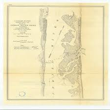 Indian River Tide Chart Amazon Com Vintography 8 X 12 Inch 1870 Us Old Nautical Map