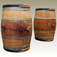Vintage Oak Wine Barrels Bordeaux France Maison Dcor French