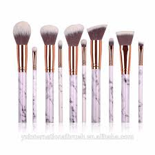 marble makeup brushes. 10 pcs synthetic hair marble makeup brush set beauty cosmetic with bag wholesale brushes n