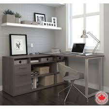interesting gray office desk creative home design furniture decorating alluring gray office desk