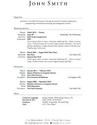 Download Resume Templates For Microsoft Word 2010 Resume Format