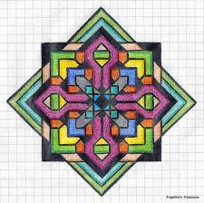 patterns to draw on graph paper 19 best graph paper art images on pinterest graph paper art graph