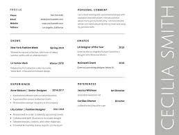 Professional Fonts For Resume Font For Resume Good Resume Fonts Cool