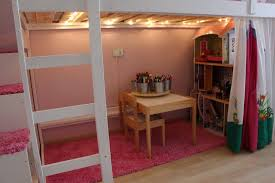 MYDAL Loftbed with play area for girl's room   IKEA Hackers