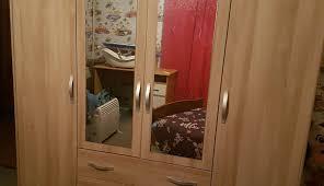 tall wardrobe desk closet armoire combo bedroom diy francais cabinet jewelry narrow comp syste depot