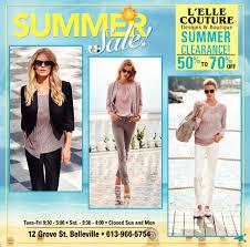 Elle Couture Designs Summer Sale Lelle Couture Designs Boutique Belleville On