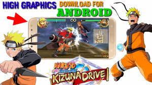 Only 70 MB )Download Naruto Shippuden Kizuna Drive For Android |