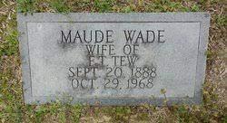 Maude Wade Tew (1888-1968) - Find A Grave Memorial