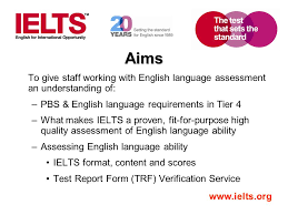 English Language Requirements In Immigration Focus On Ielts Ppt
