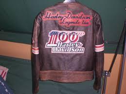 harley davidson 100th anniversary leather jacket