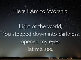 Light Of The World You Stepped Down Into Darkness Song Ridgecrest Area Wide By Nathan Ison