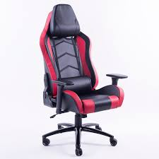 red office chairs. LOFTET Gaming Chair (Black And Red) Red Office Chairs