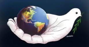 Image result for شعار صلح از سوی ازادیخواهان