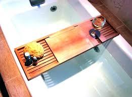 wooden bath tray bath tray wood bathtub rack wooden bathtub trays kitchen bath what you can