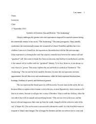 essay on the awakening by chopin essay about the awakening by edna pontellier 601 words bartleby
