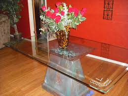 glass top dining table with metal base. dining tables:round glass table set for 4 rectangular top with metal base h