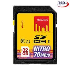 Thẻ nhớ SD Strontium 32GB chính hãng bản Nitro 466X