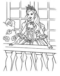 Small Picture Barbie Doll Princess Cartoon Coloring Pages Disney Coloring Just