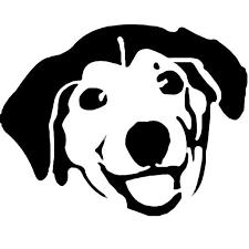Advice Dog Stencil Template Stencil Templates Pinterest Cross
