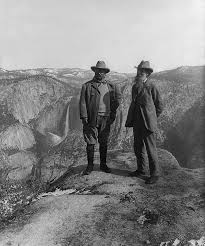 best president theodore roosevelt images president theodore roosevelt and naturalist john muir on glacier point in yosemite national park 1906