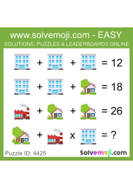 problem solving teaching ideas emoji maths puzzles