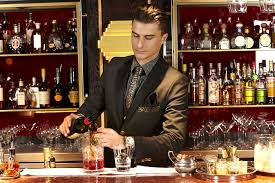 Bar Manager How about a drink Quaglino's Bar Manager in his stunning Studio 24 1