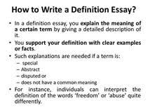 definitive essay master thesis vco help on writing essay definitive essay