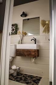 Bathroom Vanity Diy Remodelaholic Reclaimed Wood Floating Vanity