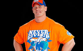as time progressed cena adopted even more phrases to slap onto t shirts the newest one being never give up john went through a palette swap and went