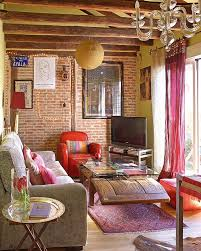 Interior Bohemian Living Room  Rooms Decor And IdeasBohemian Living Rooms