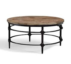 parquet reclaimed wood round coffee table parquet reclaimed wood round coffee table
