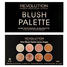 revolution ultra blush palette golden sugar to view a larger image