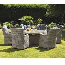wentworth dining set with 6 comfort