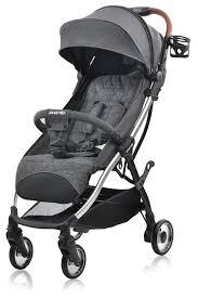 Купить <b>Прогулочная коляска everflo</b> Sky E-380 dark grey по низкой ...