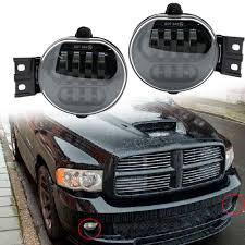 2004 Dodge Ram Bumper Light Bar For Dodge Ram 1500 2500 3500 Sport Package Bumper Fog Lights Lamp Chrome