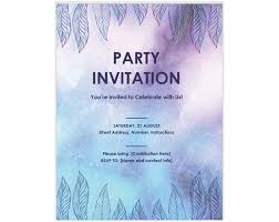 Microsoft Word Birthday Invitation Templates 13 Free Templates For Creating Event Invitations In Microsoft Word