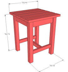 Height of End Tables