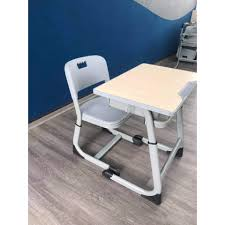 Tặng đèn led ] Bàn học cho bé Lumili M1 bàn ghế trẻ em mix nhỏ gọn đơn giản cho  học sinh chống gù chống cận thông minh - Nội thất