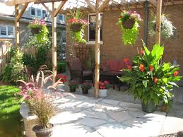 Small Picture Fresh Decorating Patio With Potted Plants Design Ideas Modern With