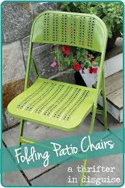 diy spray painted metal chairs with caning
