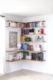 remarkable wall bookshelves ideas 17 best ideas about corner wall shelves on bedroom