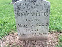 Mary Polly Gardner White (1771-1852) - Find A Grave Memorial