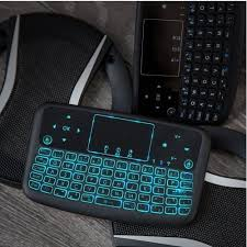 <b>Alfawise A9 New</b> Touch 2.4GHz Wireless Keyboard Flying Mouse ...