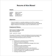Resume Pdf Template - Resume And Cover Letter - Resume And Cover Letter