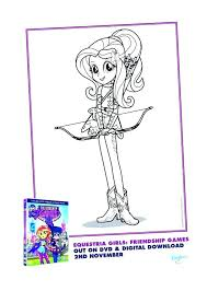 Equestria Girls Coloring Pages Totgsorg