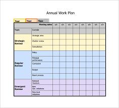 work plan examples 15 work plan templates free sample example format
