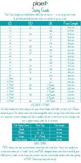 Prototypic Saltwater Sandals Size Guide Sun Sans Size Chart