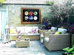 outdoor wall art ideas creative patio decor tropical c39