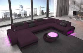 Fabric Sectional Sofa Charlotte U Shape